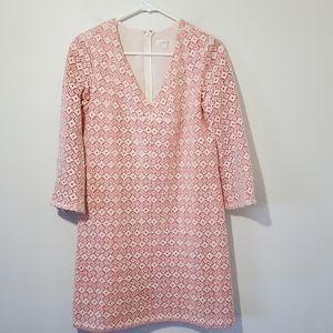 Shoshanna V neck dress size 4